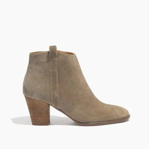 Madewell Billie Boot in Suede